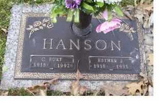 HANSON, C. BURT - Scioto County, Ohio | C. BURT HANSON - Ohio Gravestone Photos
