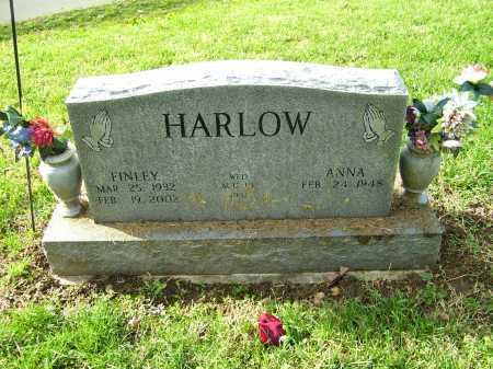 HARLOW, ANNA - Scioto County, Ohio | ANNA HARLOW - Ohio Gravestone Photos