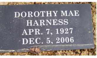 HARNESS, DOROTHY MAE - Scioto County, Ohio   DOROTHY MAE HARNESS - Ohio Gravestone Photos