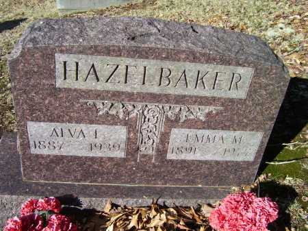 HAZELBAKER, ALVA I. - Scioto County, Ohio | ALVA I. HAZELBAKER - Ohio Gravestone Photos