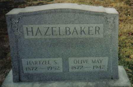 HAZELBAKER, OLIVE MAY - Scioto County, Ohio   OLIVE MAY HAZELBAKER - Ohio Gravestone Photos