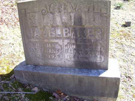 HAZELBAKER, RUHAMA - Scioto County, Ohio | RUHAMA HAZELBAKER - Ohio Gravestone Photos