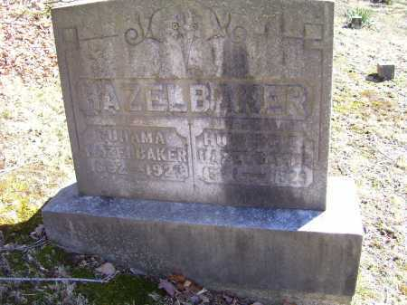 MERCER HAZELBAKER, RUHAMA - Scioto County, Ohio | RUHAMA MERCER HAZELBAKER - Ohio Gravestone Photos