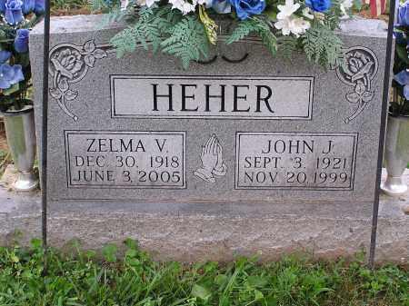 HEHER, ZELMA - Scioto County, Ohio | ZELMA HEHER - Ohio Gravestone Photos