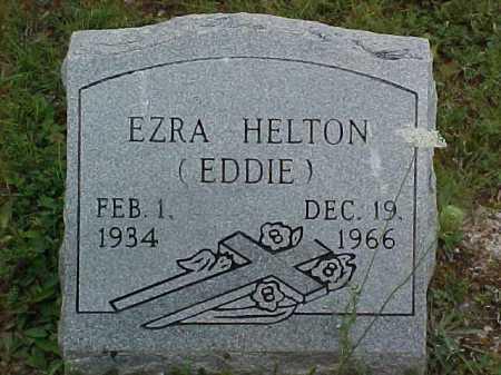 HELTON, EZRA - Scioto County, Ohio   EZRA HELTON - Ohio Gravestone Photos