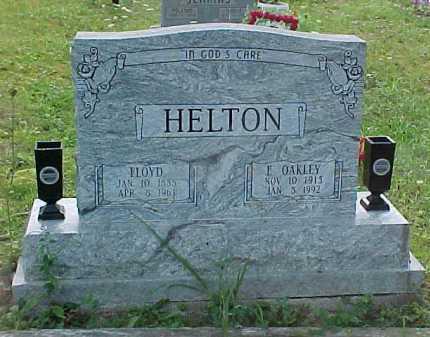HELTON, E. OAKLEY - Scioto County, Ohio   E. OAKLEY HELTON - Ohio Gravestone Photos