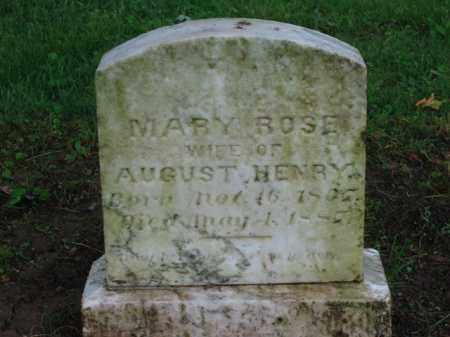 HENRY, MARY ROSE - Scioto County, Ohio | MARY ROSE HENRY - Ohio Gravestone Photos