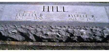 HILL, LURETTA B. - Scioto County, Ohio   LURETTA B. HILL - Ohio Gravestone Photos