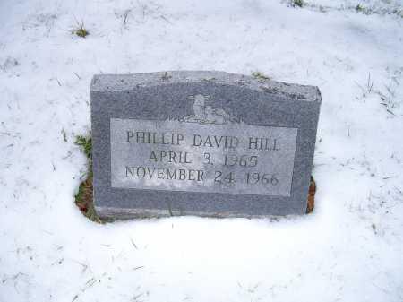 HILL, PHILLIP DAVID - Scioto County, Ohio   PHILLIP DAVID HILL - Ohio Gravestone Photos