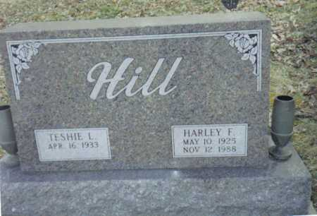 HILL, HARLEY F. - Scioto County, Ohio | HARLEY F. HILL - Ohio Gravestone Photos