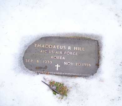 HILL, THADDAEUS R. - Scioto County, Ohio | THADDAEUS R. HILL - Ohio Gravestone Photos