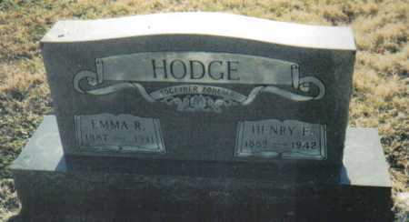 HODGE, HENRY F. - Scioto County, Ohio | HENRY F. HODGE - Ohio Gravestone Photos