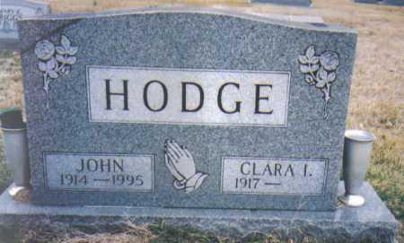 HODGE, JOHN - Scioto County, Ohio | JOHN HODGE - Ohio Gravestone Photos