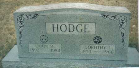 HODGE, DOROTHY L. - Scioto County, Ohio | DOROTHY L. HODGE - Ohio Gravestone Photos