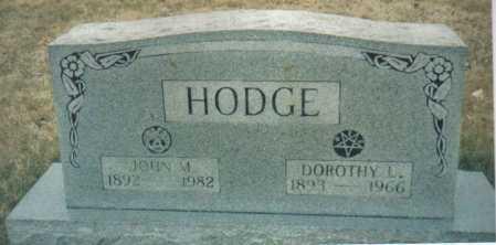 HODGE, JOHN M. - Scioto County, Ohio | JOHN M. HODGE - Ohio Gravestone Photos