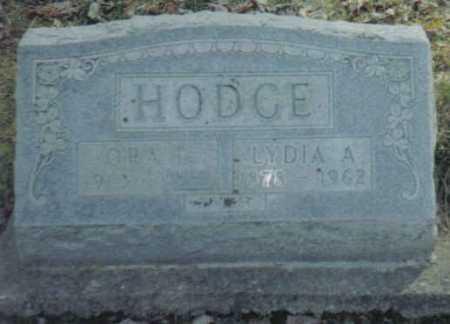 HODGE, ORA - Scioto County, Ohio | ORA HODGE - Ohio Gravestone Photos