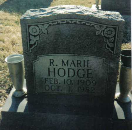 HODGE, R. MARIE - Scioto County, Ohio | R. MARIE HODGE - Ohio Gravestone Photos