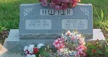 HOFFER, PEGGY L. - Scioto County, Ohio | PEGGY L. HOFFER - Ohio Gravestone Photos