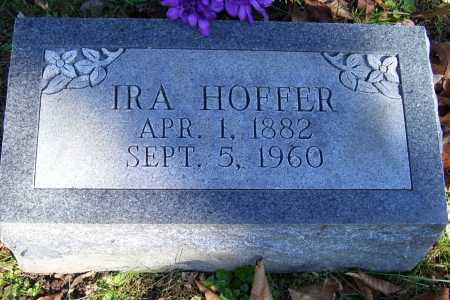 HOFFER, IRA - Scioto County, Ohio | IRA HOFFER - Ohio Gravestone Photos