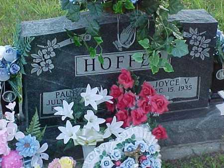 HOFFER, PAUL - Scioto County, Ohio   PAUL HOFFER - Ohio Gravestone Photos