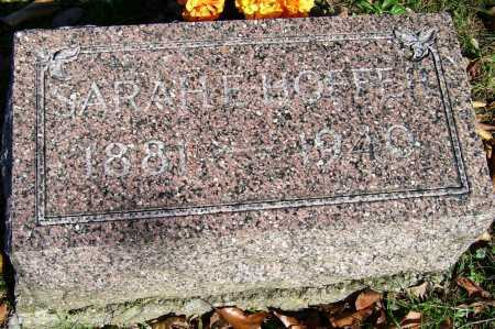 HOFFER, SARAH - Scioto County, Ohio | SARAH HOFFER - Ohio Gravestone Photos