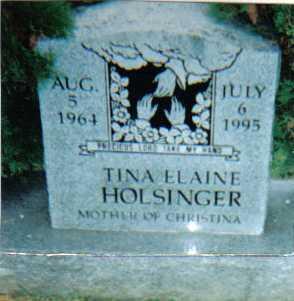 HOLSINGER, TINA ELAINE - Scioto County, Ohio | TINA ELAINE HOLSINGER - Ohio Gravestone Photos