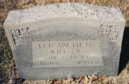 HOLT, ELIZABETH M. - Scioto County, Ohio | ELIZABETH M. HOLT - Ohio Gravestone Photos