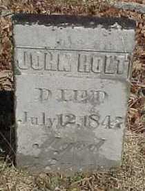 HOLT, JOHN - Scioto County, Ohio   JOHN HOLT - Ohio Gravestone Photos