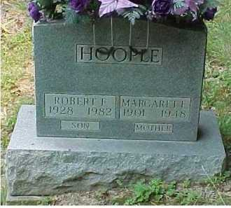 HOOPLE, MARGARET F. - Scioto County, Ohio | MARGARET F. HOOPLE - Ohio Gravestone Photos