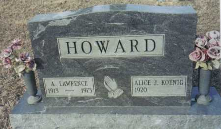 HOWARD, A. HOWARD - Scioto County, Ohio | A. HOWARD HOWARD - Ohio Gravestone Photos