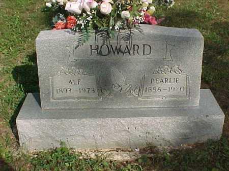 HOWARD, PEARLIE - Scioto County, Ohio | PEARLIE HOWARD - Ohio Gravestone Photos