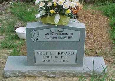 HOWARD, BRET E. - Scioto County, Ohio | BRET E. HOWARD - Ohio Gravestone Photos