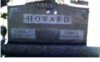 HOWARD, BERTHA E. - Scioto County, Ohio | BERTHA E. HOWARD - Ohio Gravestone Photos