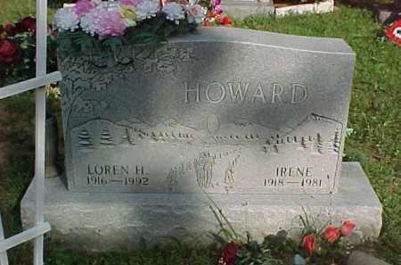 HOWARD, LOREN H. - Scioto County, Ohio | LOREN H. HOWARD - Ohio Gravestone Photos