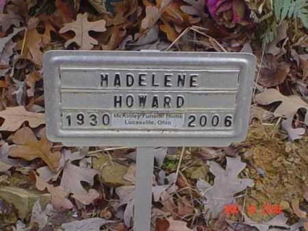 HOWARD, MADELENE - Scioto County, Ohio | MADELENE HOWARD - Ohio Gravestone Photos
