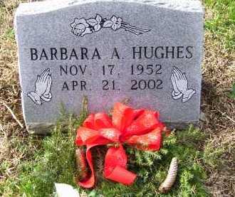 HUGHES, BARBARA A. - Scioto County, Ohio   BARBARA A. HUGHES - Ohio Gravestone Photos