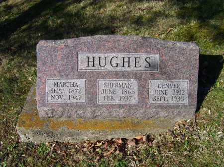 HUGHES, SHERMAN - Scioto County, Ohio | SHERMAN HUGHES - Ohio Gravestone Photos