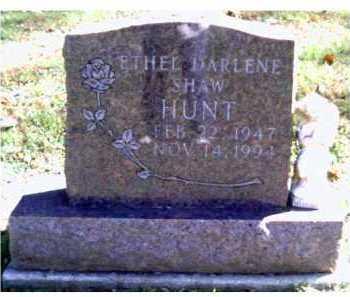 HUNT, ETHEL DARLENE - Scioto County, Ohio | ETHEL DARLENE HUNT - Ohio Gravestone Photos