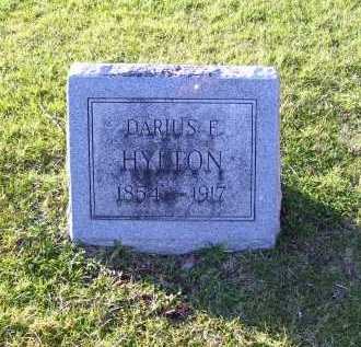 HYLTON, DARIUS F. - Scioto County, Ohio | DARIUS F. HYLTON - Ohio Gravestone Photos