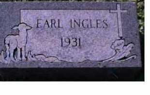 INGLES, EARL - Scioto County, Ohio | EARL INGLES - Ohio Gravestone Photos