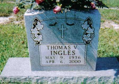 INGLES, THOMAS V. - Scioto County, Ohio   THOMAS V. INGLES - Ohio Gravestone Photos