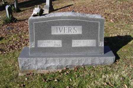 IVERS, JAMES E. - Scioto County, Ohio | JAMES E. IVERS - Ohio Gravestone Photos