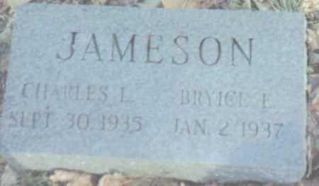 JAMESON, BRYICE E. - Scioto County, Ohio | BRYICE E. JAMESON - Ohio Gravestone Photos
