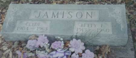 JAMISON, BETTY E. - Scioto County, Ohio | BETTY E. JAMISON - Ohio Gravestone Photos