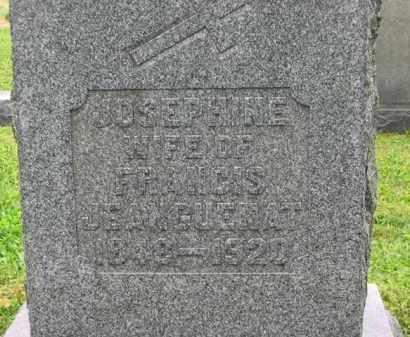 JEANGUENAT, FRANCIS - Scioto County, Ohio   FRANCIS JEANGUENAT - Ohio Gravestone Photos