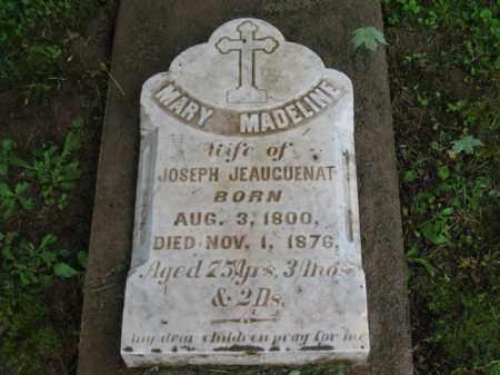 JEANGUENAT, MARY MADELINE - Scioto County, Ohio | MARY MADELINE JEANGUENAT - Ohio Gravestone Photos