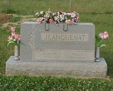 JEANGUENAT, BLANCHE I. - Scioto County, Ohio | BLANCHE I. JEANGUENAT - Ohio Gravestone Photos