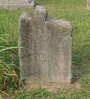 JEANGUENAT, PETER - Scioto County, Ohio | PETER JEANGUENAT - Ohio Gravestone Photos