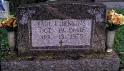 JENKINS, PAUL E. - Scioto County, Ohio | PAUL E. JENKINS - Ohio Gravestone Photos