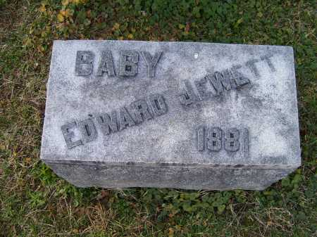 JEWETT, EDWARD - Scioto County, Ohio | EDWARD JEWETT - Ohio Gravestone Photos